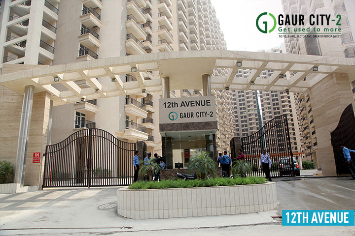 Gaur City 12th Avenue Construction Stattus