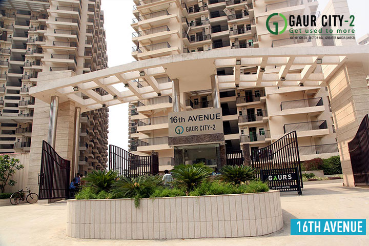 Gaur City 16th Avenue Construction Status
