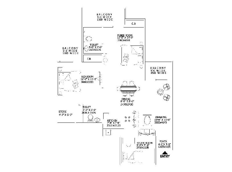 Gaur 16th Avenue Floor Plan